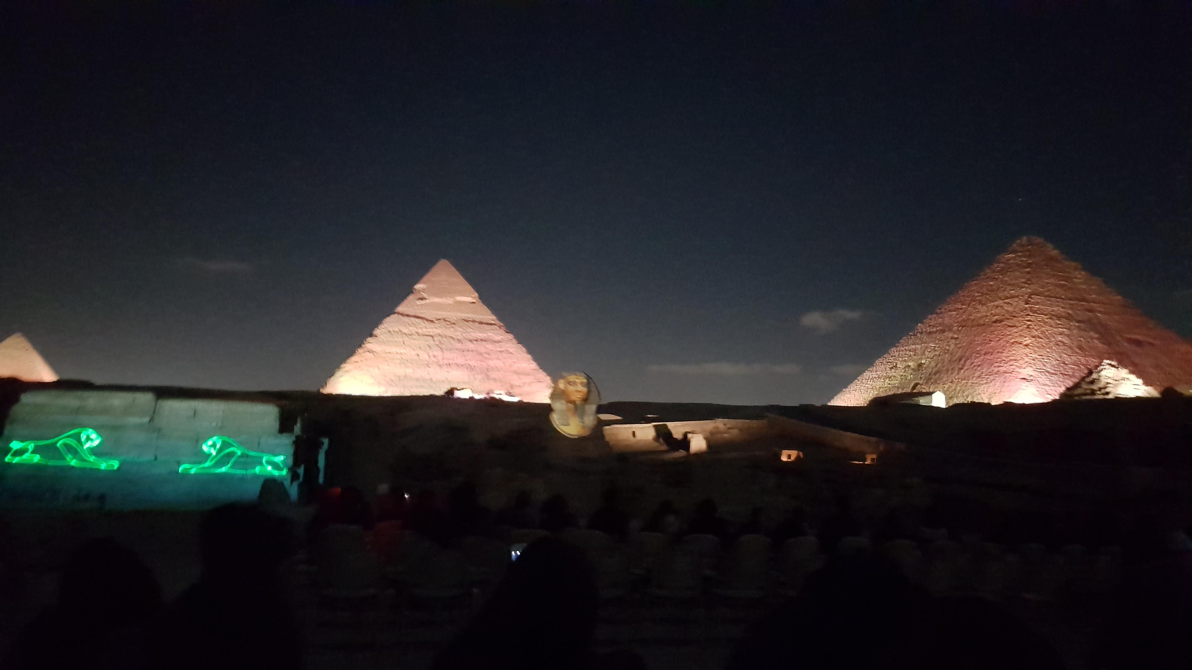 lumini piramide